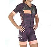 traje de triatlon mujer manga corta