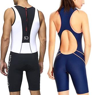 tritrajes de hombre y mujer para distancia sprint
