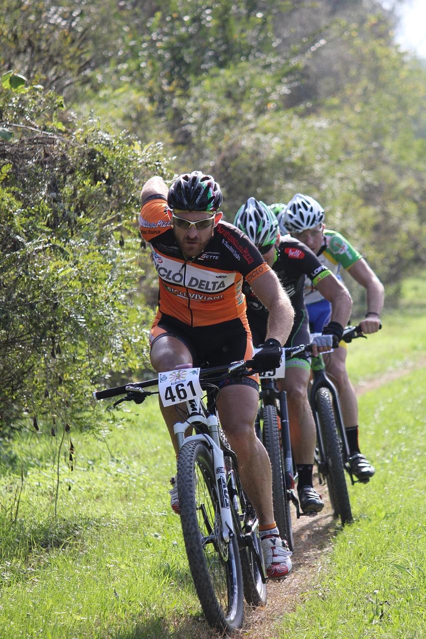 Ciclismo con bicicleta de montaña