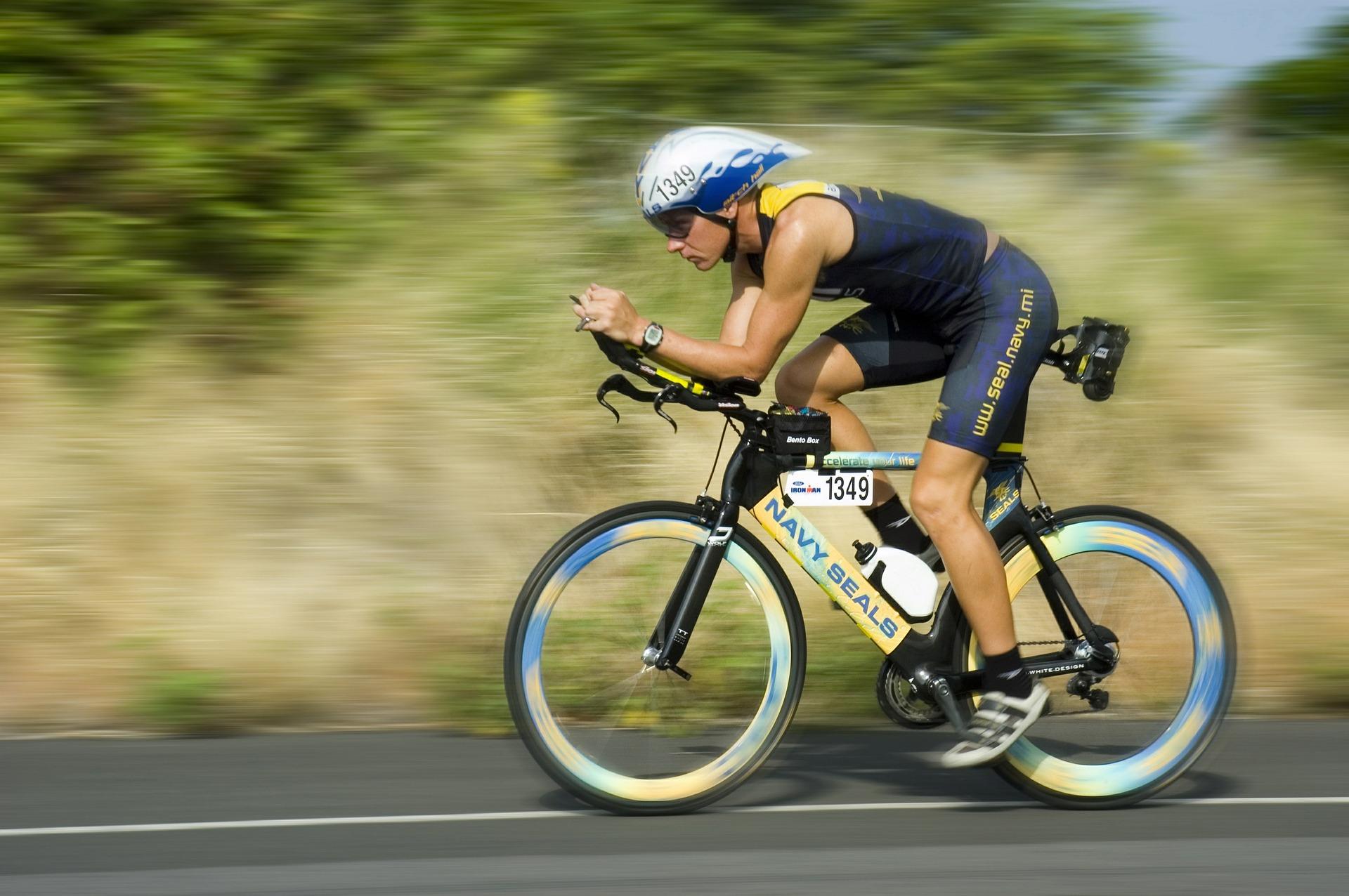 Ciclista triatlon