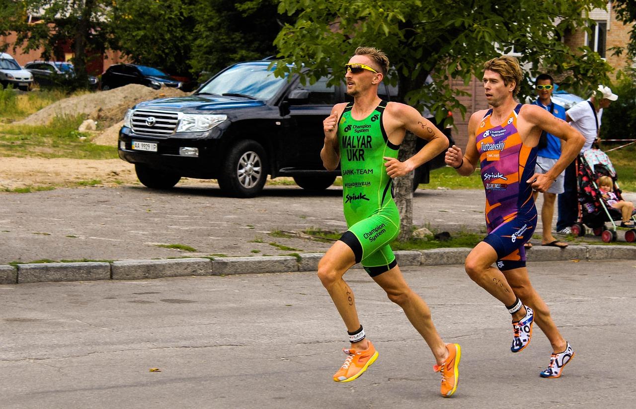 carrera a pie triatlon